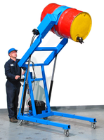 Morse 410 Series Hydra-Lift Karriers come with dual hydraulic cylinders.