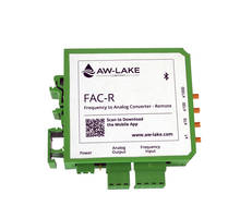 FAC-R™ Frequency to Analog Converter comes with DIN-Rail mount.
