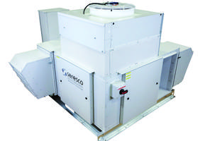 NE-Series Pool Packaged Dehumidifier comes in a 64 x 60 in. footprint.