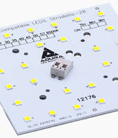 12176 LED Lighting Modules feature input and output Poke-in connectors.