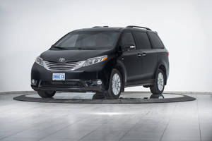 Armored Toyota Sienna Passenger Van meets CEN 1063 Level BR6 ballistic standards.