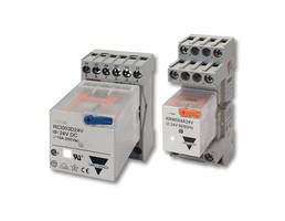 Industrial Electromechanical Plug-In Relays are integrated with diagnostic LED.
