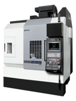 5-Axis GENOS M460V-5AX Vertical Machining Center comes with a high-speed spindle.