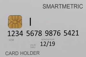 SmartMetric Biometric Card uses a person fingerprint for authentication.