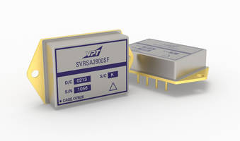 SVRSA DC-DC Converters offer short circuit protection.