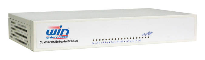 PL-81850 Desktop Networking System features MiniPCIe x3.