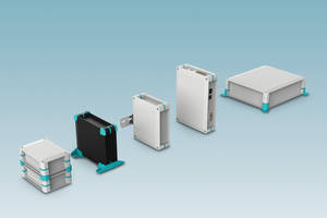 Universal Case System is made of polycarbonate material.