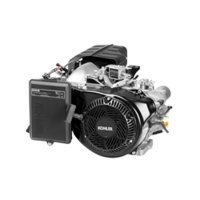 PowerStroke 7000 Watt Portable Generator features KOHLER ECH440LE engine.