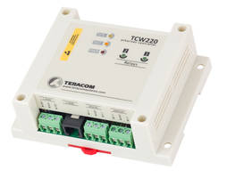 Teracom TCW220 Ethernet Data Logger features two discrete inputs.