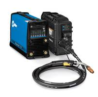 Dynasty 280 DX Multiprocess Welder weighs 55 lbs.