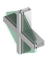 400T Series Thermal Curtainwall comes with 2-1/2 in. sightline.