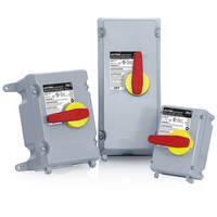 Powerswitch® Disconnect Switches come with over-mold handle.
