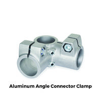 GN 196 Aluminum Angle Connector Clamps are RoHS compliant.