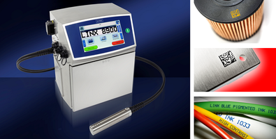 Linx 8900 Plus Series Color Contrast Inkjet Coder offers throw distance of 20mm.
