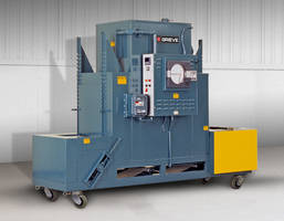 Electrically Heated Belt Conveyor Oven features SCR power controller.