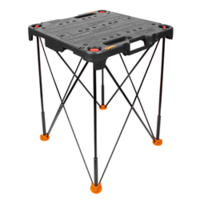WORX Sidekick Folding Worktable comes with load capacity up to 300lbs.
