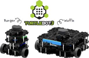 TurtleBot 3 R.O.S.-Based Robot is available in two default configurations.