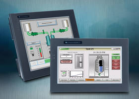 C-More EA9 Series Touch Panels are powered by 12-24 VDC source.