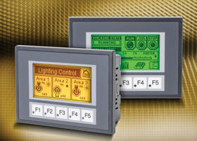 3 in. C-more Micro HMI Panels come with red LED indicator.