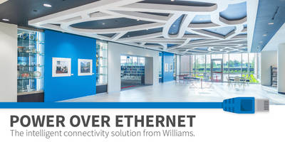 Introducing Power Over Ethernet Lighting: The Intelligent Connectivity Solution from Williams