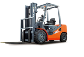 H3 Series Heli Forklifts meet EPA standards.