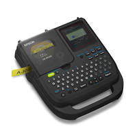 LW-PX350 Label Printer features automatic cutter.