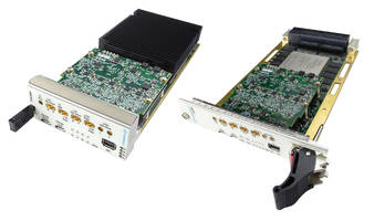 GSPS ADC/DAC Modules are available in OpenVPX and AMC form factor.