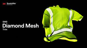 5410 Diamond Mesh Trim uses cut-and-spread technology.