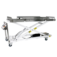 Cadaver Lift Series come with single scissor frame.