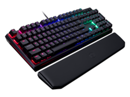 MasterKeys MK750 Mechanical Gaming Keyboard features removable USB Type-C cable.