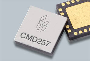 GaAs IP3 I/Q Mixer Monolithic Microwave Integrated Circuits come in 4x4 SMT packages.