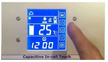 Segment Type LCD Displays come with touch panel sensor.