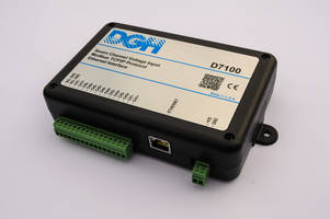 TCP/IP Ethernet Data Acquisition Modules measure current up to +/-20mA.