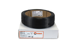 Hobart FabCOR® Edge™ Metal-Cored Wire comes with low spatter levels.
