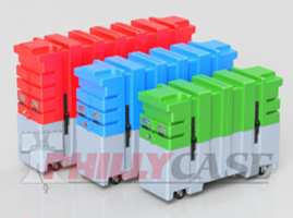 Flat Screen TV Shipping Cases are available in five different sizes.