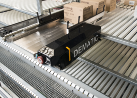 Dematic Multishuttle 2 Storage Buffer is suitable for food manufacturers.