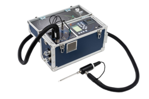E9000 Portable Emissions Analyzer comes with nine gas sensors.