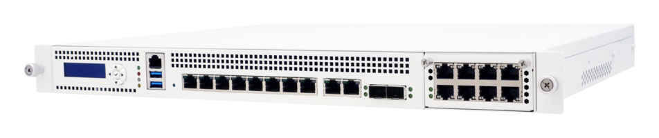 PL-81270 1U Rack-Mounted Networking System features Intel® QuickAssist.