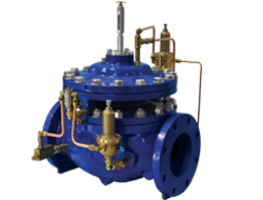 Singer Pressure Management Valve is operated based on flow rates.