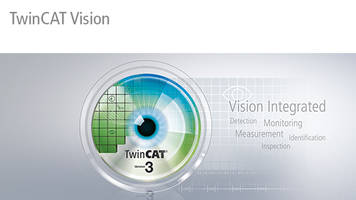 TwinCAT Vision Software is suitable for machine building applications.