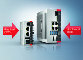 C6030 Industrial PC Series can be operated up to +55