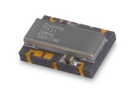 T752 Series Temperature Compensated Crystal Oscillator comes in 5 x 7mm package.