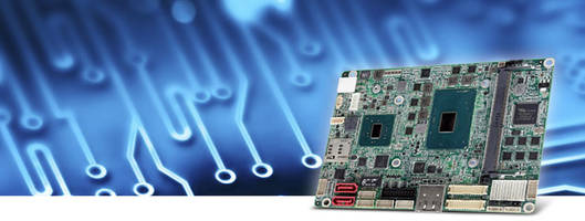 EmCORE-i89M2 3.5 in. Compact Board comes with integrated dual gigabit Ethernets.