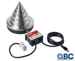 BETEX Cone Heater comes in lightweight aluminum body.