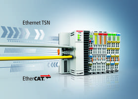 EK1000 EtherCAT TSN Coupler comes with 100 Mbit/s ports.