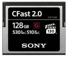G Series CFast Memory Cards come in a hard case.