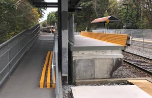 Train Stations Gain ADA Compliance And Zero-Maintenance With FRP Composite FiberSPAN-R Mini-High Platforms