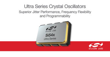 I2C-Programmable Crystal Oscillators are suitable for 56 Gbps transceiver designs.