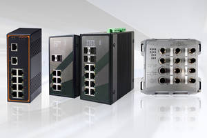 Industry-Specific Ethernet Switches feature fiber optics connectivity.