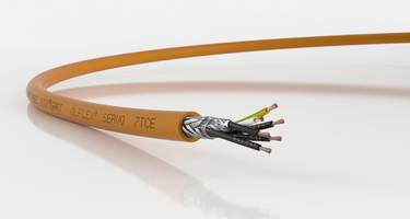 ÖLFLEX® SERVO 7TCE Servo Cable comes with thermoplastic elastomer jacket.
